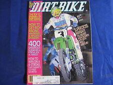 DIRT BIKE MAGAZINE-MAY 1990-CZ VINTAGE MART-AMATEUR SUPX-YZ250WR-MID ENDURO SHOO