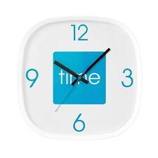 Premier Housewares Arco Wall Clock - Blue