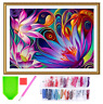 DIY 5D Diamond Painting Kit Full Drill Flower Embroidery Cross Stitch Art Craft