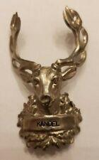 Kandel, Germany Stocknagel, Hiking Medallion, Badge, Shield, Pin, Used, GP2-25
