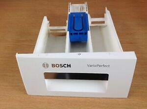 Bosch VarioPerfect Washing Machine Soap Dispenser Drawer White