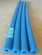 "4 Long Blue Pool Noodle 56"" swimming noodle water foam, craft, fishing & therapy"