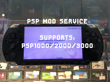 PSP 1000/2000/3000 Custom Firmware Installation Software Mod Service