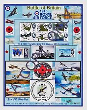 GB 1965.A4 LAMINATED DESIGN BATTLE OF BRITAIN. MINT SET 8 ( & free GIFT/S (42)