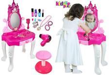 Kiddie jugar pretender niños Mesa Y Silla Conjunto de Belleza De Vanidad Con..