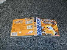 REPLACEMENT NINTENDO GAMEBOY GAME DS CASE BOX - POKEMON YELLOW