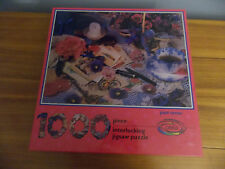 Ceaco 1000 Pc Puzzle Past Tense Tea Cup Roses Candle New Sealed