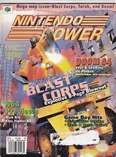 Nintendo Power Mag Blast Corps Kirby's Star stacker April 1997 080719nonr