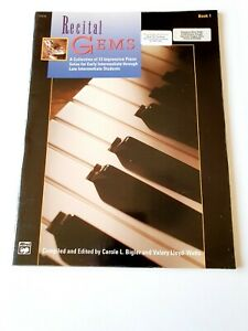 Recital Gems, Book 1 - Carole Bigler and Valery Lloyd-Watts (Music)