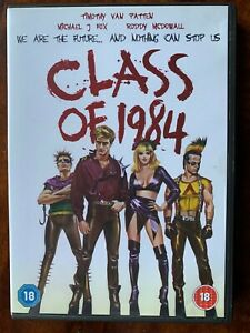 Class of 1984 DVD 1981 Brutal High School Cult Film Movie w/ Michael J. Fox