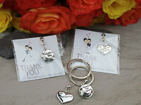 Luxury Wedding Favour Gift - Wedding Keyring Favours - Just Married Favor