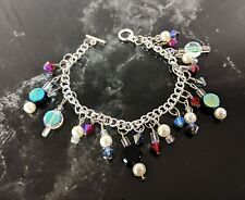 Beautiful  Multicolour Charm Beaded Bracelet