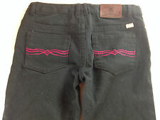 Lucky Brand Zoe Jegging Jeans Girls 12 Youth Pants 27 x 25 Actual Black Stretch