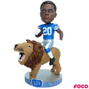 Barry Sanders Detroit Lions Riding Lion Bobblehead NFL