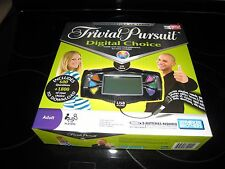 TRIVIAL PURSUIT DIGITAL CHOICE TRIVIA ELECTRONIC BOARD GAME PARKER BROTHERS 2008