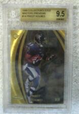 Priest Holmes RC 1998 Collector's Edge Masters Gold Rookie Beckett GEM BGS9.5!