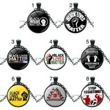Black Lives Matter Life Is Very Important Necklace Popular