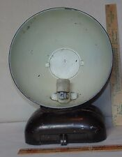 Vintage Art Deco Make-up Mirror Mirolite Made By National Working Lamp Steampunk