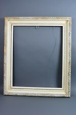 TOLEDO MUSEUM ART Deep Coved Gesso Beveled Wood Picture Frame 26 x 21.5 I.D. NMR