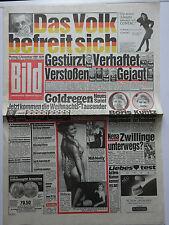 Bild Zeitung 4.12.1989, Das Volk befreit sich, Nena, Danuta Lato, Karin Hübner