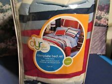 New Target Do Your Room Queen 7 Piece 100% Cotton Bed Set 180-200 Thread Count
