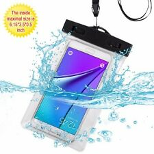 Universal T-Clear Waterproof Dry Bag Cell Phone Pouch Case Cove with Armband
