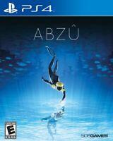 ABZU [Sony PlayStation PS4 Ocean Story Explore Action Ancient Secrets] NEW