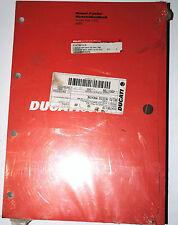 Manuel d'atelier / Werkstatthandbuch Ducati  999 R 2003 réf.91470511B neuf
