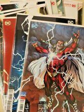 Dc Comics Shazam! (2019) Variant Set Lot Issues #1-11 Geoff Johns Eaglesham