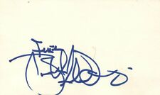 Brett Scallions Lead Singer Fuel Rock Band Music Signed Index Card JSA COA