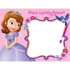 SOFIA THE FIRST WATER PAINT BOARDS (4) ~ Birthday Party Supplies Favors Toys