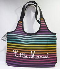 """LITTLE MARCEL sac porté main """" rond """" 43x29x10 cm NEUF"""