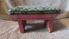 Vintage Padded Small Stool - June 1941  (10 T)