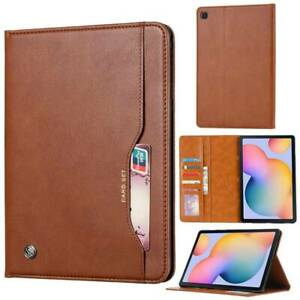 """Wallet Leather Case Cover For Samsung Galaxy Tab S6 Lite 10.4"""" P610 A 8.4"""" T307"""