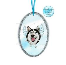 Siberian Husky Angel Ornament Dog With Wings Christmas Ornament Pet Remembrance