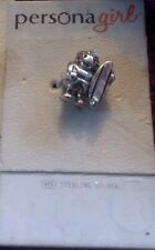 New Authentic Persona GIRL SURFER SILVER Charm LOT 8
