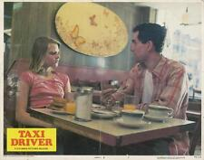 """TAXI DRIVER""-ORIGINAL LOBBY CARD-DE NIRO-JODIE FOSTER-SCORSESE-NEW YORK"