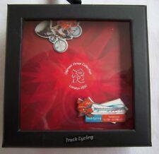 Orig. 2er Pin Set  Olympische Spiele LONDON 2012 - RADSPORT Bahn / in Box !! TOP
