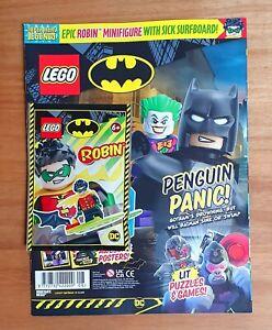 NEW LEGO SPECIAL EDITION DC BATMAN MAGAZINE EXCULSIVIE MINIFIGURE NEW