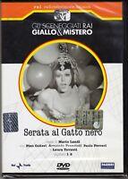 Dvd Sceneggiati Rai SERATA AL GATTO NERO di Mario Landi con P.Colizzi nuovo 1973