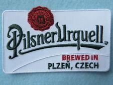 Beer Fabric Patch ~ PILSNER URQUELL Brewery ~ Plzen, Czech Republic Since 1842