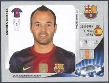 Panini UEFA Liga de Campeones 2012-13- #455-BARCELONA-ANDRES Iniesta