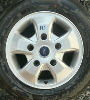 "FORD TRANSIT CUSTOM 16"" ALLOY WHEEL AND NEXEN TYRE X1"