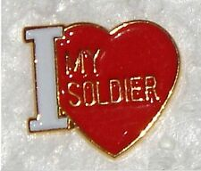 US ARMY I LOVE MY SOLDIER PIN - GREAT GIFT IDEA! - MADE IN THE USA!!!