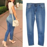 Sexy Women's Skinny Stretchy Jeggings Pants Leggings Jeans Pencil Tight Trousers