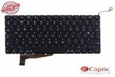 """Genuine Apple Macbook Pro 15"""" A1286 UK laptop Keyboard 2009 2010 2011 2012 New"""