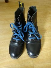 Dr Martens vintage 1991 Black Made In England Boots Size 6 Used