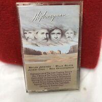 HIGHWAYMAN CASSETTE JOHNNY CASH WILLIE NELSON WAYLON JENNINGS KRISTOFFERSON tape