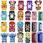 3D Cute Cartoon Super Hero Rubber Silicone Case Cover for iPod Touch 4 5th 6 6th
