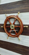 24 inches Collectible Nautical Wooden Ship Wheel  Wall Decor